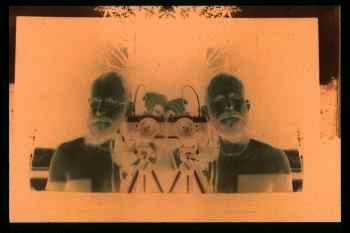 Double self-portrait by Anthony Weir
