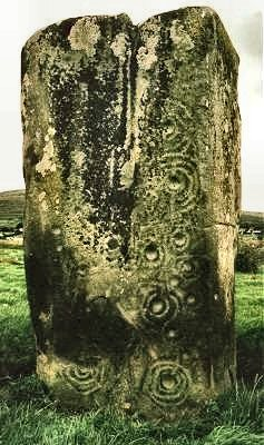 Standing-stone, Ardmore, county Donegal.