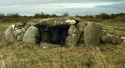 Wedge-tomb, Carrowcrom, county Mayo.