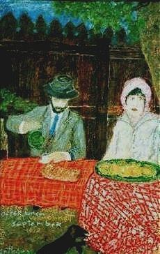 Portrait of Pierre & Marthe Bonnard